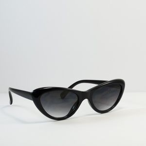 Accessories - Cat Eye Fashion Chic Sunglasses-Black